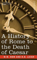 A History of Rome to the Death of Caesar [Pdf/ePub] eBook