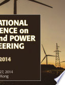 International Conference on Energy and Power Engineering  EPE2014  Book