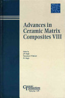 Advances in Ceramic Matrix Composites VIII