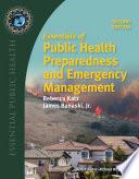 Essentials of Public Health Preparedness and Emergency Management Book