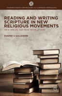 Reading and Writing Scripture in New Religious Movements Pdf/ePub eBook