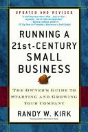 Running a 21st Century Small Business