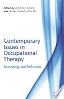 Contemporary Issues In Occupational Therapy PDF