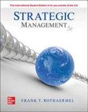 ISE Strategic Management  Concepts