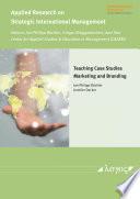 Teaching Case Studies   Marketing and Branding