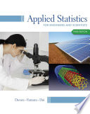 Applied Statistics for Engineers and Scientists Book