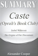 Summary of Caste  Oprah s Book Club