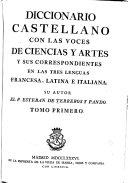 Diccionario castellano: A-D