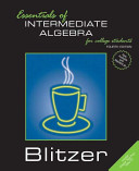 Essentials of Intermediate Algebra for College Students