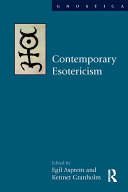 Contemporary Esotericism