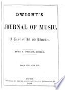 Dwight s Journal of Music Book