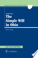 Anderson's The Simple Will in Ohio