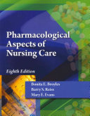 Cover of Pharmacological Aspects of Nursing Care