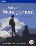 The Skills of Management