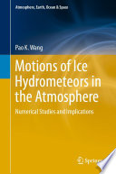 Motions of Ice Hydrometeors in the Atmosphere