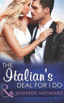 The Italian's Deal for I Do (Mills & Boon Modern) (Society Weddings, Book 1)