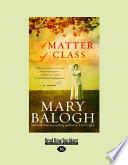 A Matter of Class Book PDF