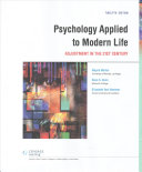 Psychology Applied To Modern Life Lms Integrated Mindtap Psychology 1 Term 6 Months Access Card