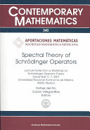 Spectral Theory of Schr  dinger Operators