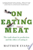 On Eating Meat Book