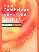 New Cambridge Advanced English Student s Book