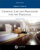 Pdf Criminal Law and Procedure for the Paralegal Telecharger