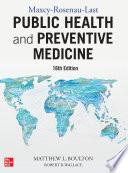 Maxcy Rosenau Last Public Health and Preventive Medicine  Sixteenth Edition