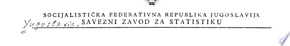 Popis stanovni  tva i stanova 1971  Stambeni fond u gradovima