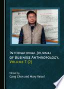 International Journal Of Business Anthropology Volume 7 2