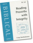 Reading Proverbs with Integrity