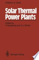 Solar Thermal Power Plants