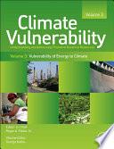 Climate Vulnerability  Volume 3 Book