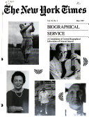 The New York Times Biographical Service Book PDF