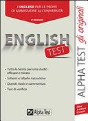 Englishtest. L'inglese per le prove di ammissione all'università