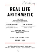 Real Life Arithmetic Book