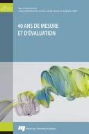 Pdf 40 ans de mesure et d'évaluation Telecharger