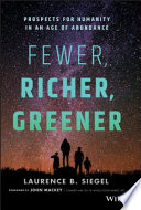 Fewer  Richer  Greener