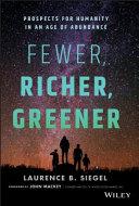 Fewer, Richer, Greener Pdf/ePub eBook