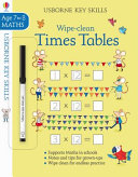 Wipe Clean Times Tables 7 8