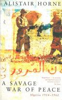 A Savage War of Peace Pdf/ePub eBook