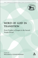 The Word of God in Transition