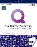 Q  Skills for Success 3E Listening and Speaking Intro Level Student s Book