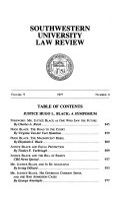 Southwestern university law review