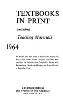 El Hi Textbooks in Print