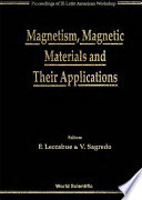 Magnetism  Magnetic Materials and Their Applications Book