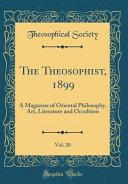 The Theosophist 1899 Vol 20