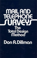 Mail and Telephone Surveys