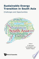 Sustainable Energy Transition In South Asia  Challenges And Opportunities