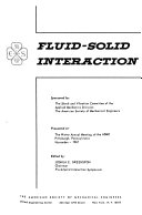 Fluid solid Interaction Book