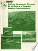 National Management Measures for the Control of Nonpoint Pollution from Agriculture